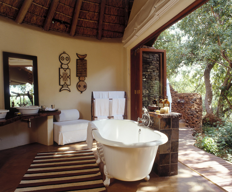 Оформляем ванную комнату в этническом стиле.